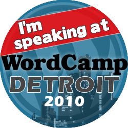 WordCamp Detroit Attendees!