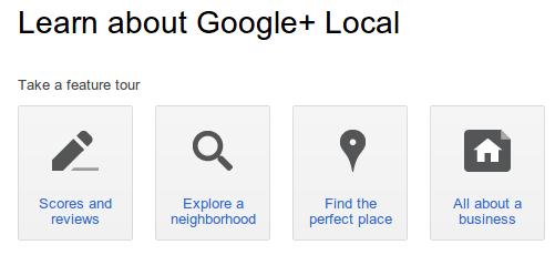 Google plus local example